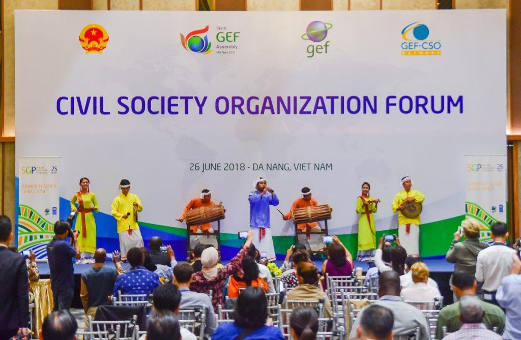 Ngày họp thứ 3 của GEF 6 tại Cung hội nghị quốc tế Ariyana Đà Nẵng 2