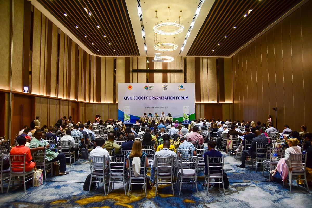 Ngày họp thứ 3 của GEF 6 tại Cung hội nghị quốc tế Ariyana Đà Nẵng 3