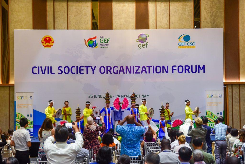 Ngày họp thứ 3 của GEF 6 tại Cung hội nghị quốc tế Ariyana Đà Nẵng