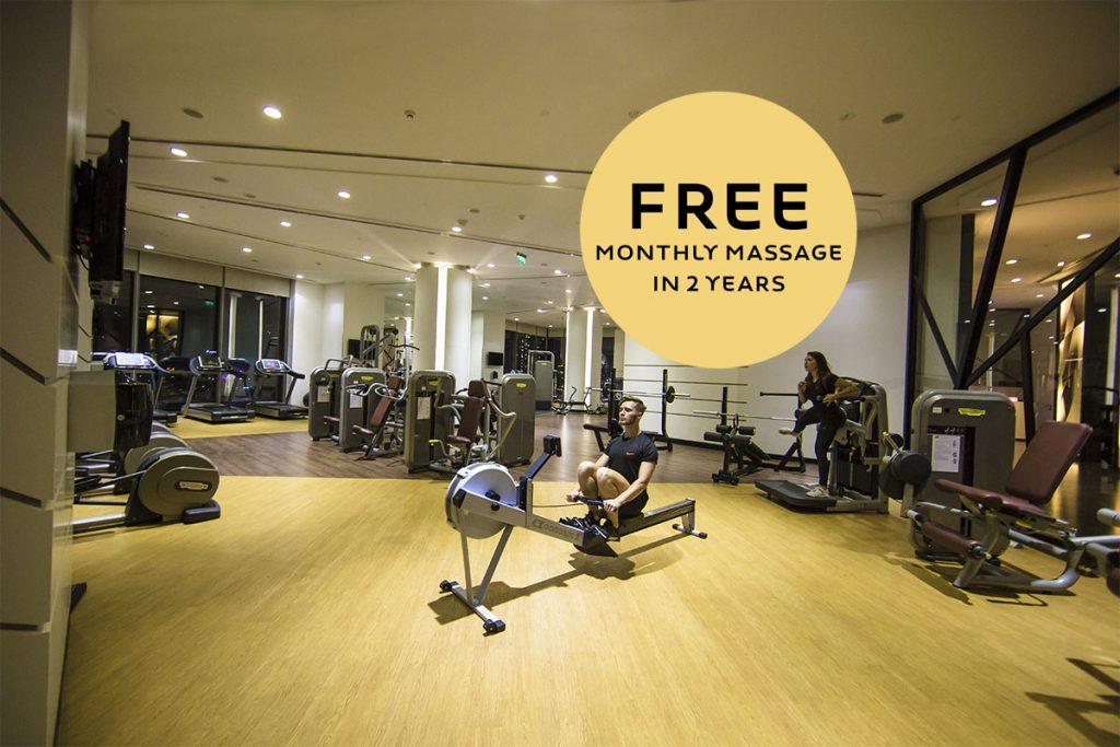 Novotel Đà Nẵng: Miễn phí MASSAGE hàng tháng khi đăng kí gói thành viên FITNESS 2 năm