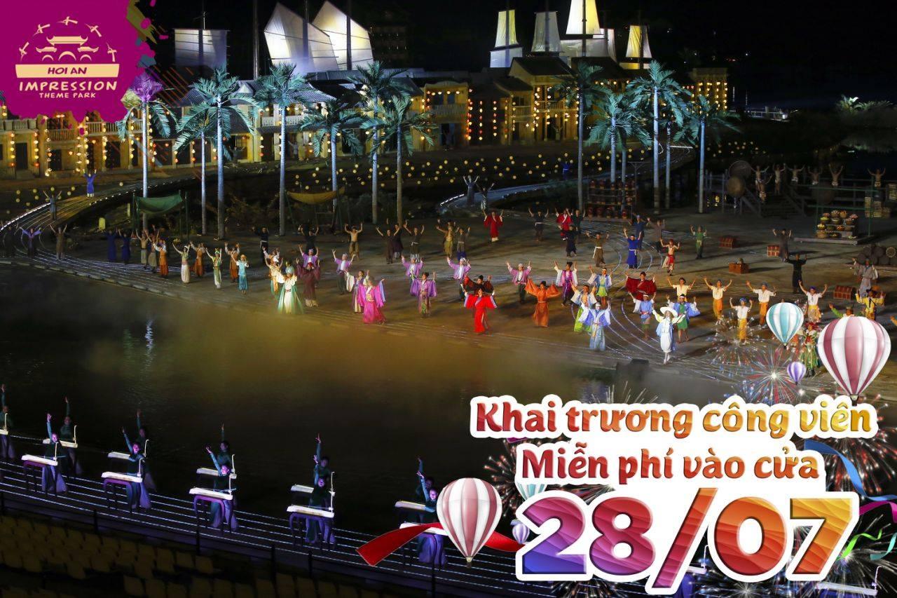 """28.07: Khai trương Công viên văn hóa chủ đề """"ẤN TƯỢNG HỘI AN"""""""
