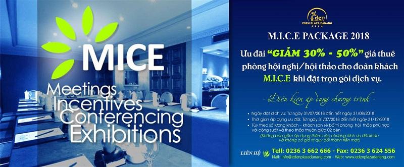 Eden Plaza Da Nang Hotel: Ưu đãi chưa từng có dành cho khách M.I.C.E