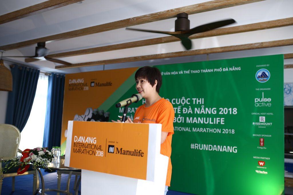 Thông cáo báo chí Cuộc thi Marathon Quốc tế Đà Nẵng năm 2018 tài trợ chính bởi Manulife 4