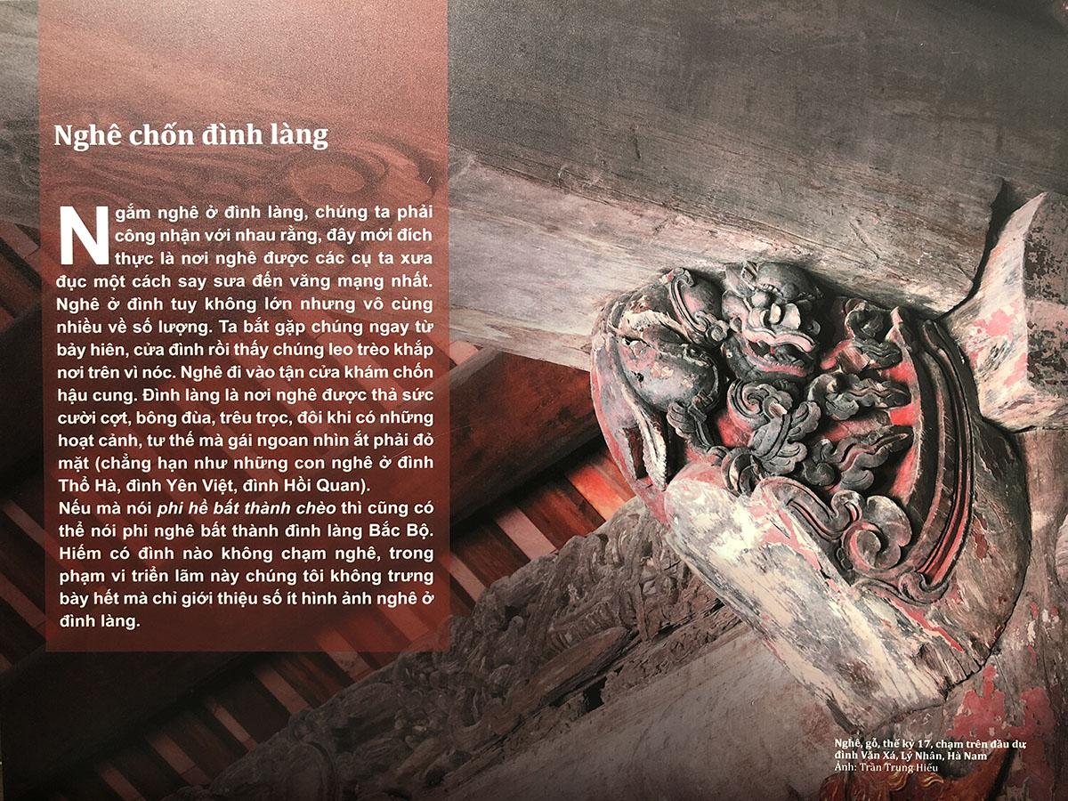 """Triển lãm tư liệu """"Linh vật Nghê Việt"""" tại Bảo tàng Mỹ thuật Đà Nẵng 3"""