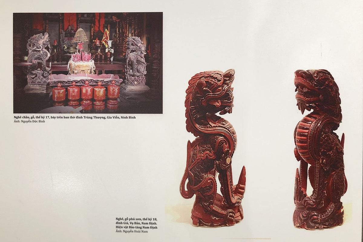 """Triển lãm tư liệu """"Linh vật Nghê Việt"""" tại Bảo tàng Mỹ thuật Đà Nẵng 2"""