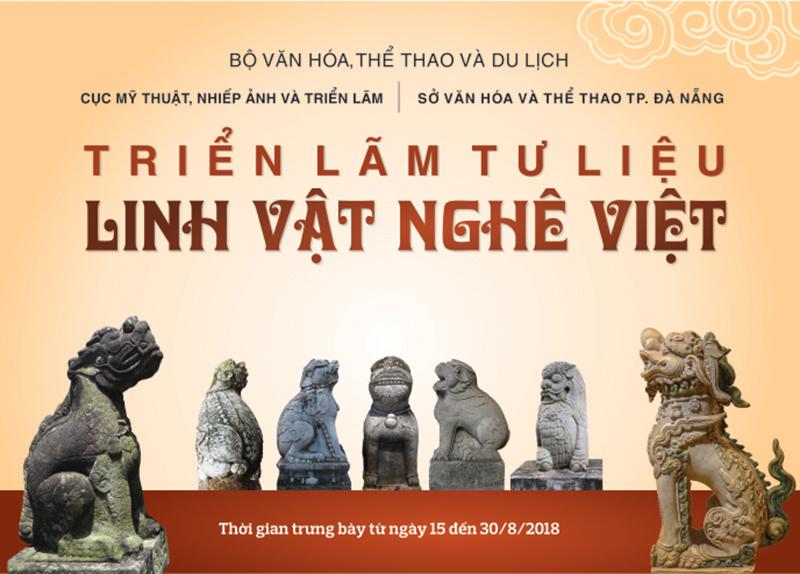 """Triển lãm tư liệu """"Linh vật Nghê Việt"""" tại Bảo tàng Mỹ thuật Đà Nẵng 1"""