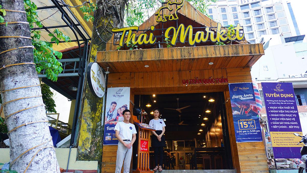 THAI MARKET – Chuỗi nhà hàng Thái chính thống đầu tiên tại miền Trung (Đà Nẵng, Hội An)