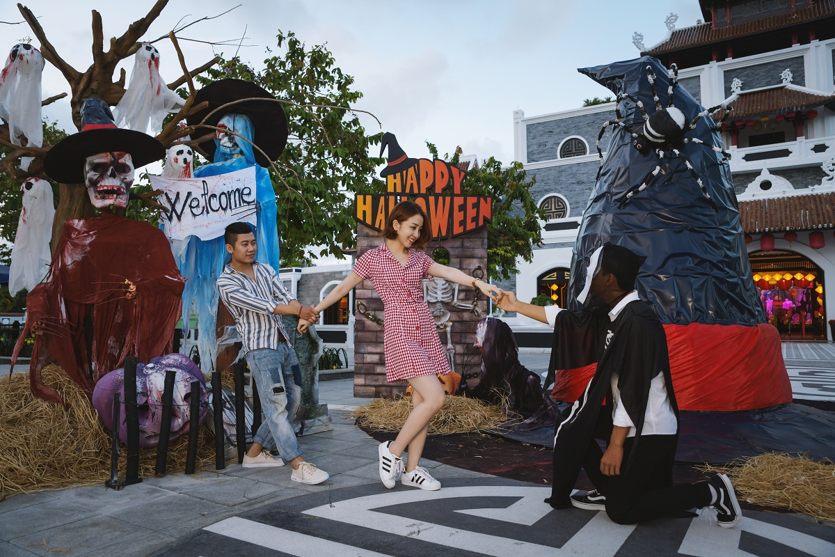 Tuần Halloween 2018 tại Sun World Danang Wonders 1