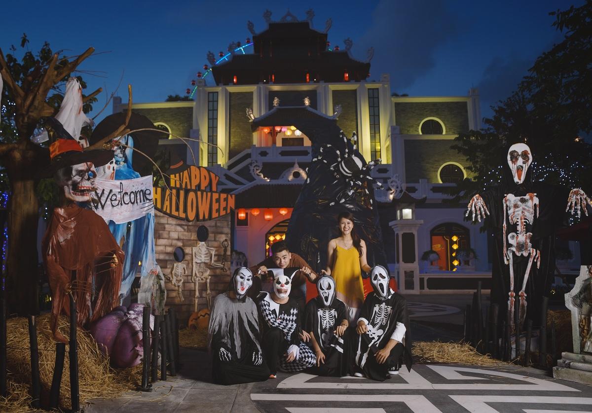 Tuần Halloween 2018 tại Sun World Danang Wonders 2