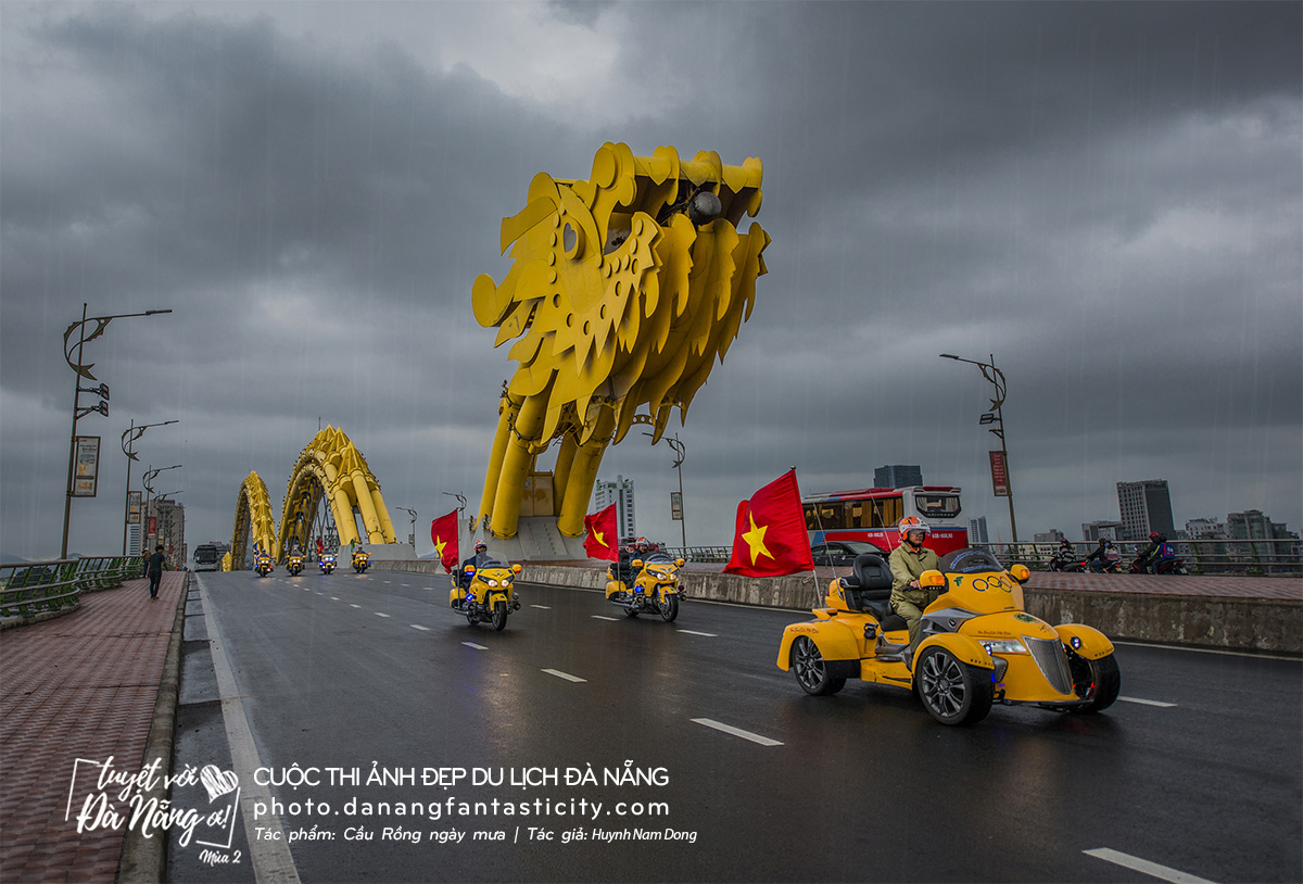 Tác phẩm: Cầu Rồng ngày mưa | Tác giả: Nguyễn Nam Hân