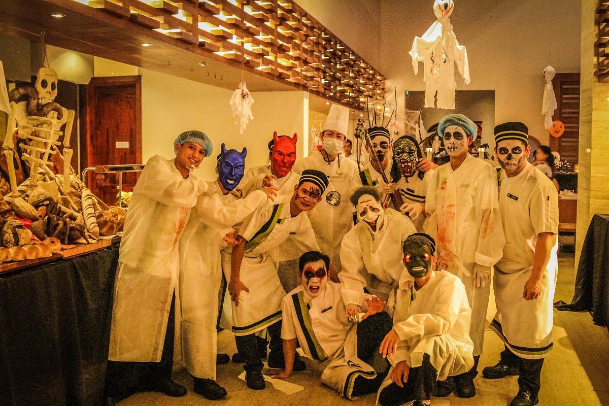 Tiệc Buffet Halloween tối đặc sắc chủ đề Trick or Treat tại Pullman Danang Beach Resort Đà Nẵng 10