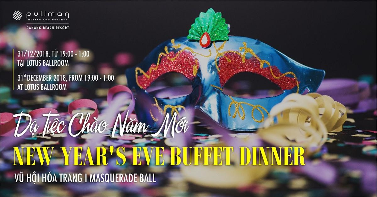 Tiệc giáng sinh và năm mới tại Đà nẵng Hấp dẫn các buổi tiệc mùa lễ hội giáng sinh và năm mới tại Pullman Danang Beach Resort 5
