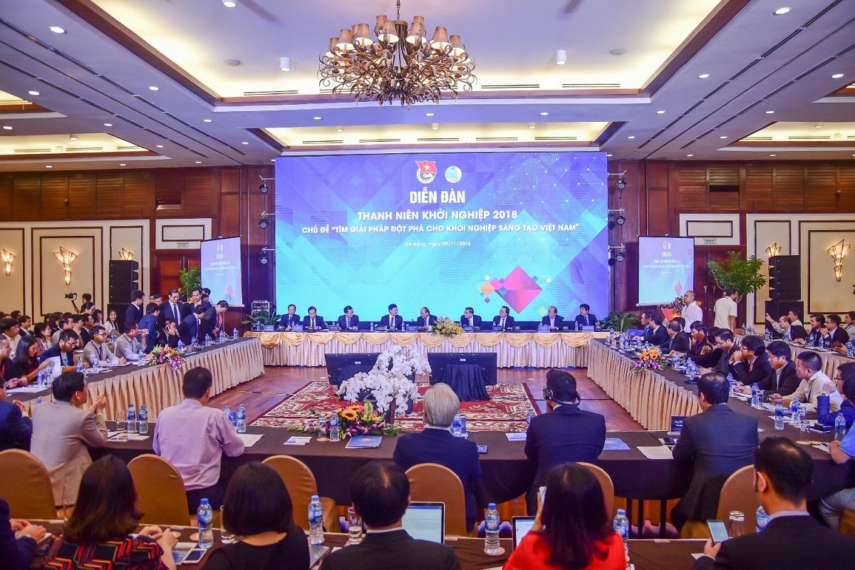 Diễn đàn thanh niên khởi nghiệp 2018 diễn ra sôi nổi tại Furama Resort Đà Nẵng 1