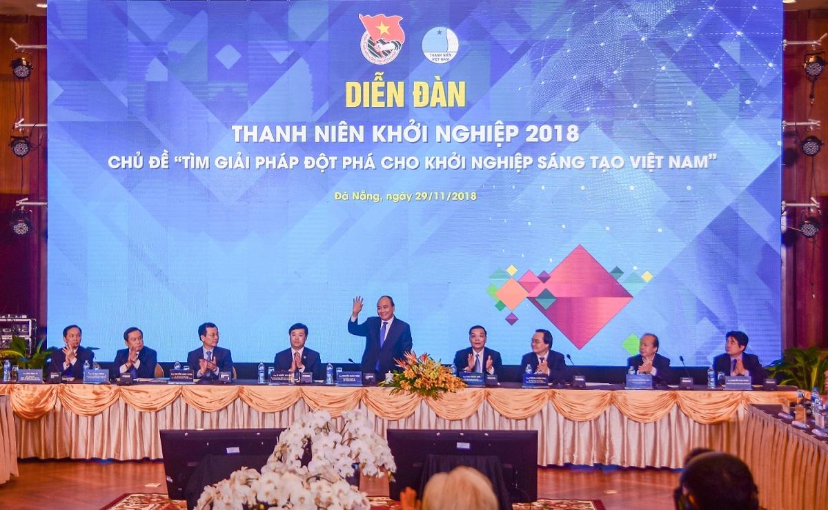 Diễn đàn thanh niên khởi nghiệp 2018 diễn ra sôi nổi tại Furama Resort Đà Nẵng