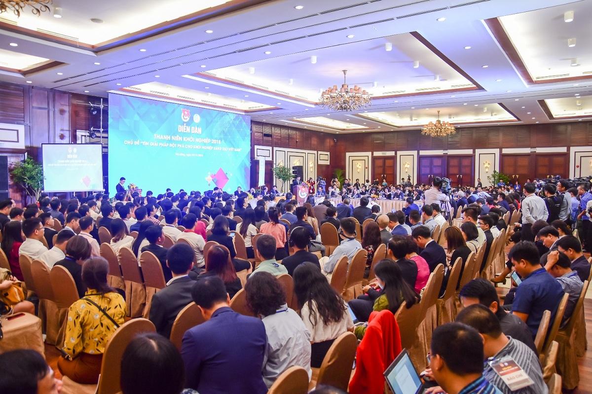 Diễn đàn thanh niên khởi nghiệp 2018 diễn ra sôi nổi tại Furama Resort Đà Nẵng 3
