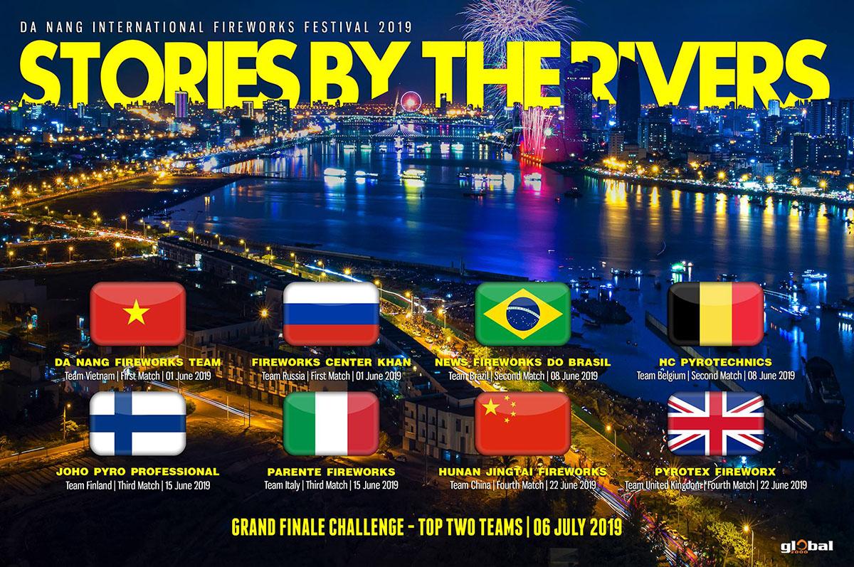 Lễ hội pháo hoa Quốc tế Đà Nẵng 2019 sẽ diễn ra trong 05 đêm, từ 01/06 đến 06/07/2019