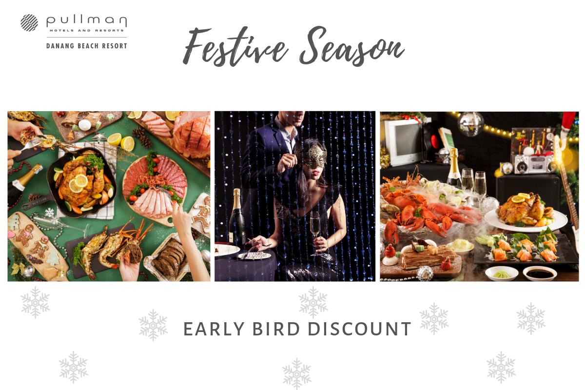 Tiệc giáng sinh và năm mới tại Đà nẵng Hấp dẫn các buổi tiệc mùa lễ hội giáng sinh và năm mới tại Pullman Danang Beach Resort 7