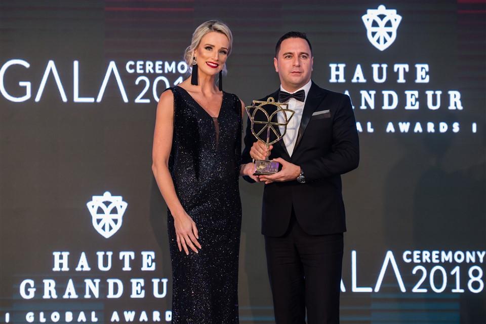 """InterContinental Danang Sun Peninsula Resort được vinh danh trong hạng mục""""Khu nghỉ dưỡng biển hàng đầu thế giới"""" tại Haute Grandeur Excellence Awards 2018"""
