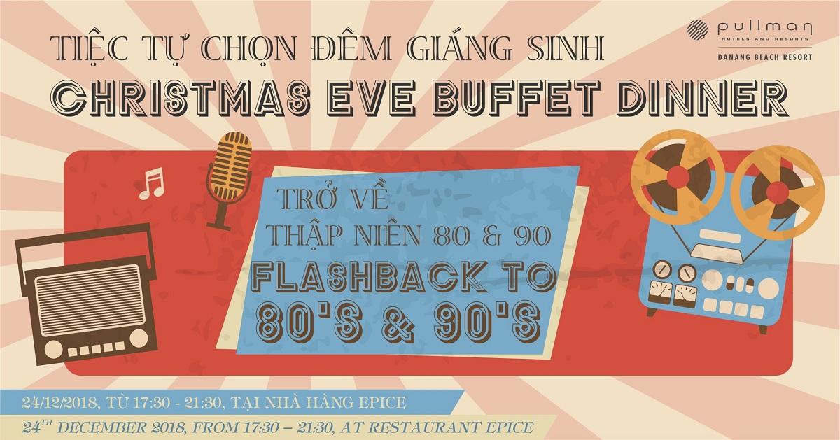 Tiệc giáng sinh và năm mới tại Đà nẵng Hấp dẫn các buổi tiệc mùa lễ hội giáng sinh và năm mới tại Pullman Danang Beach Resort