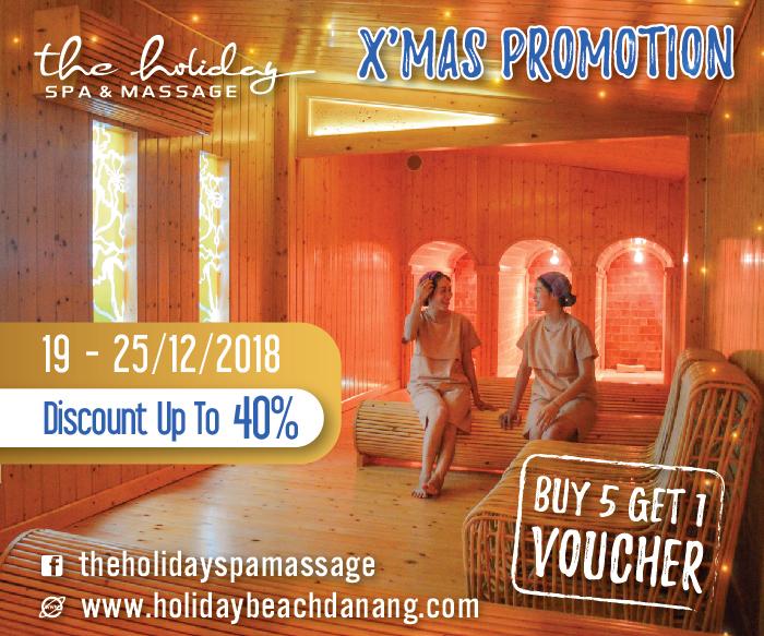 Các gói khuyến mãi hấp dẫn dịp cuối năm tại Holiday Beach Danang Hotel & Resort2