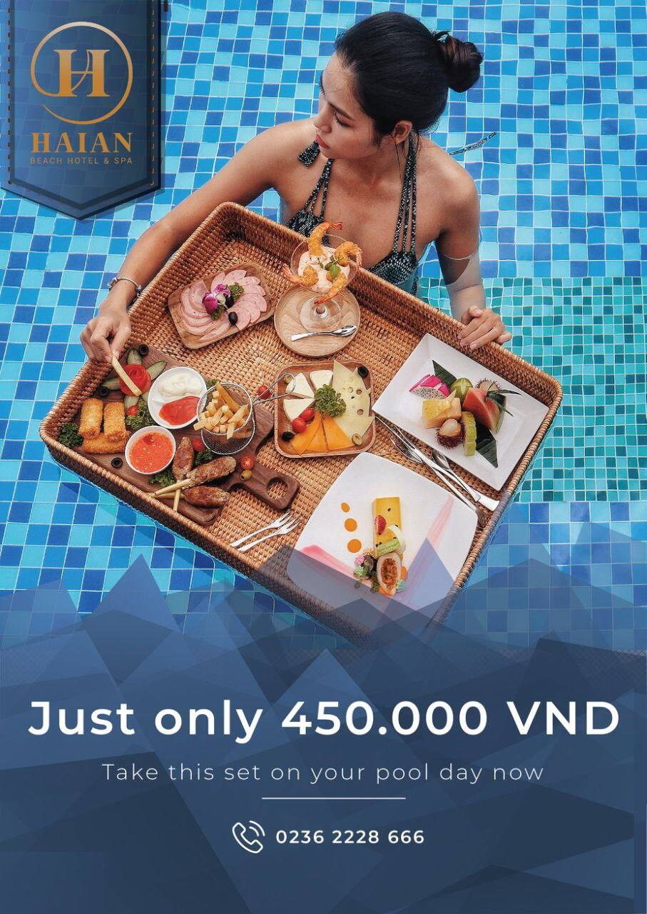 Special FLOATING COMBO at HAIAN Beach Hotel & Spa