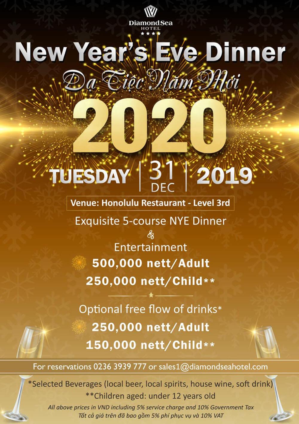 Da Tiec Giang Sinh Va Nam Moi Tai Khach San Diamond Sea Hotel Danang 005