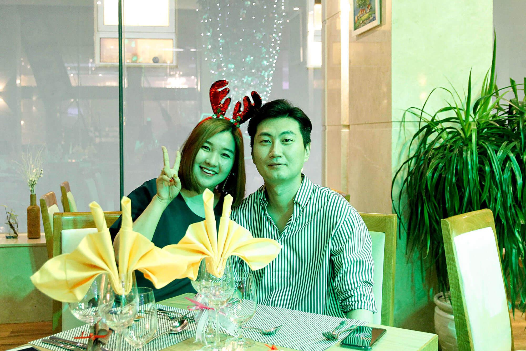 Da Tiec Giang Sinh Va Nam Moi Tai Khach San Diamond Sea Hotel Danang