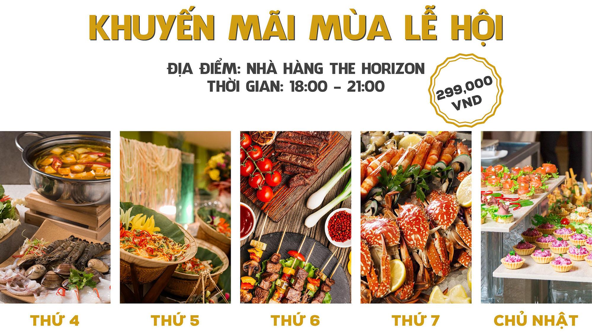 Chuoi Chuong Trinh Buffet Khuyen Mai Mua Le Hoi Tai Danang Golden Bay Cac Su Kien Noi Bat Da Nang Thang 11 Chao Mua Dong