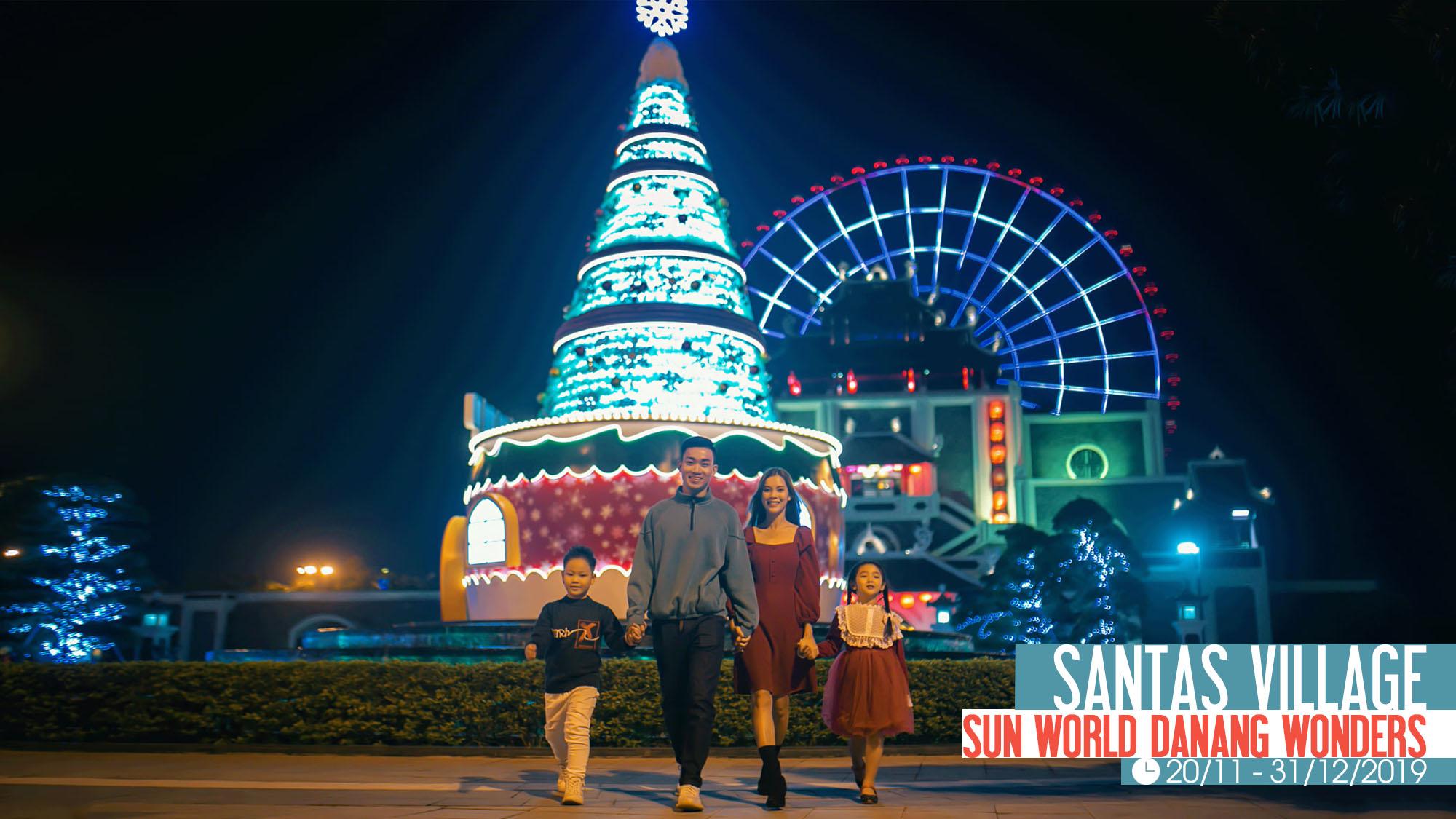 Santas Village Sunworld Danang Wonders Cac Su Kien Noi Bat Da Nang Quang Nam Thang 12 2019 Chao Nam Moi 01
