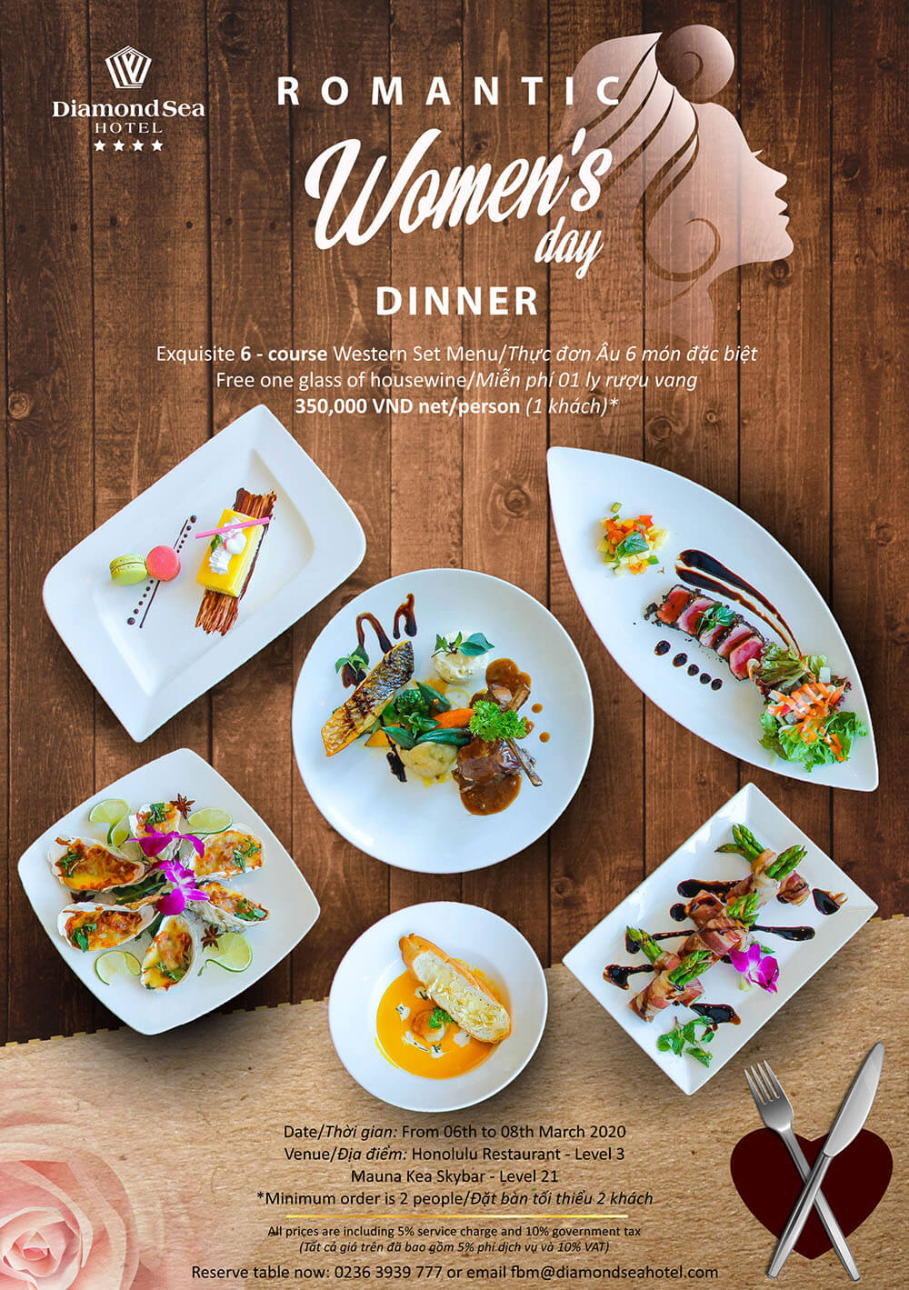 Set Menu For International Women Day 01