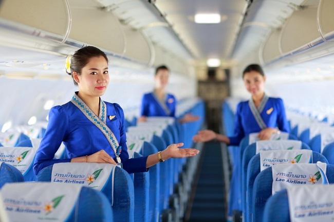 Lao Airlines Mo Duong Bay Vieng Chan Da Nang 02