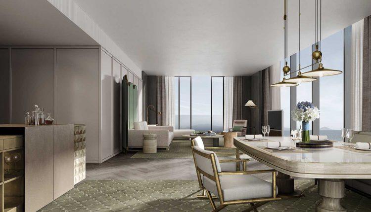 Executive Ocean View Suite Living Area V2