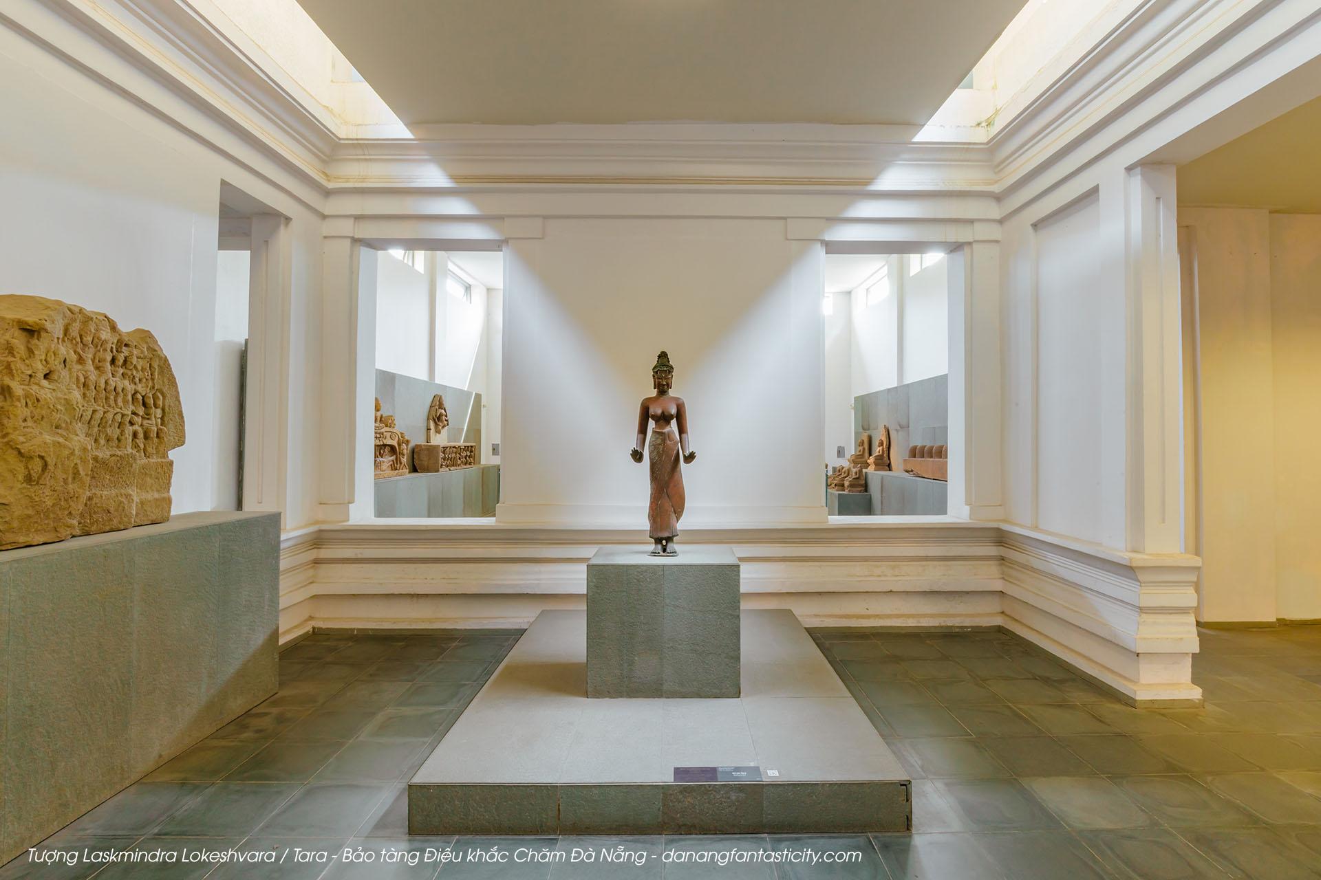 Tuong Laskmindra Lokeshvara Tara Bao Tang Dieu Khac Cham Danang Fantasticity Com