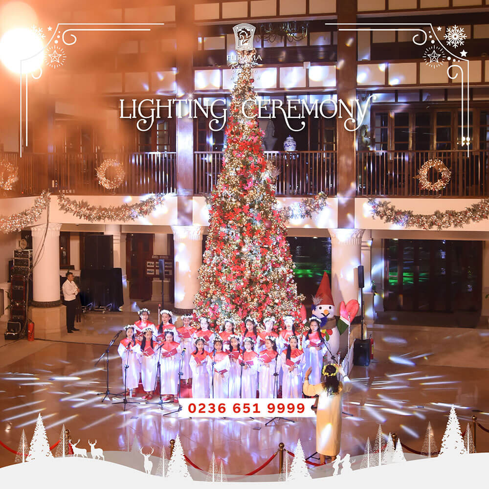 Light Up The Christmas Tree Kick Off The Festive Season At Furama Resort Danang 01