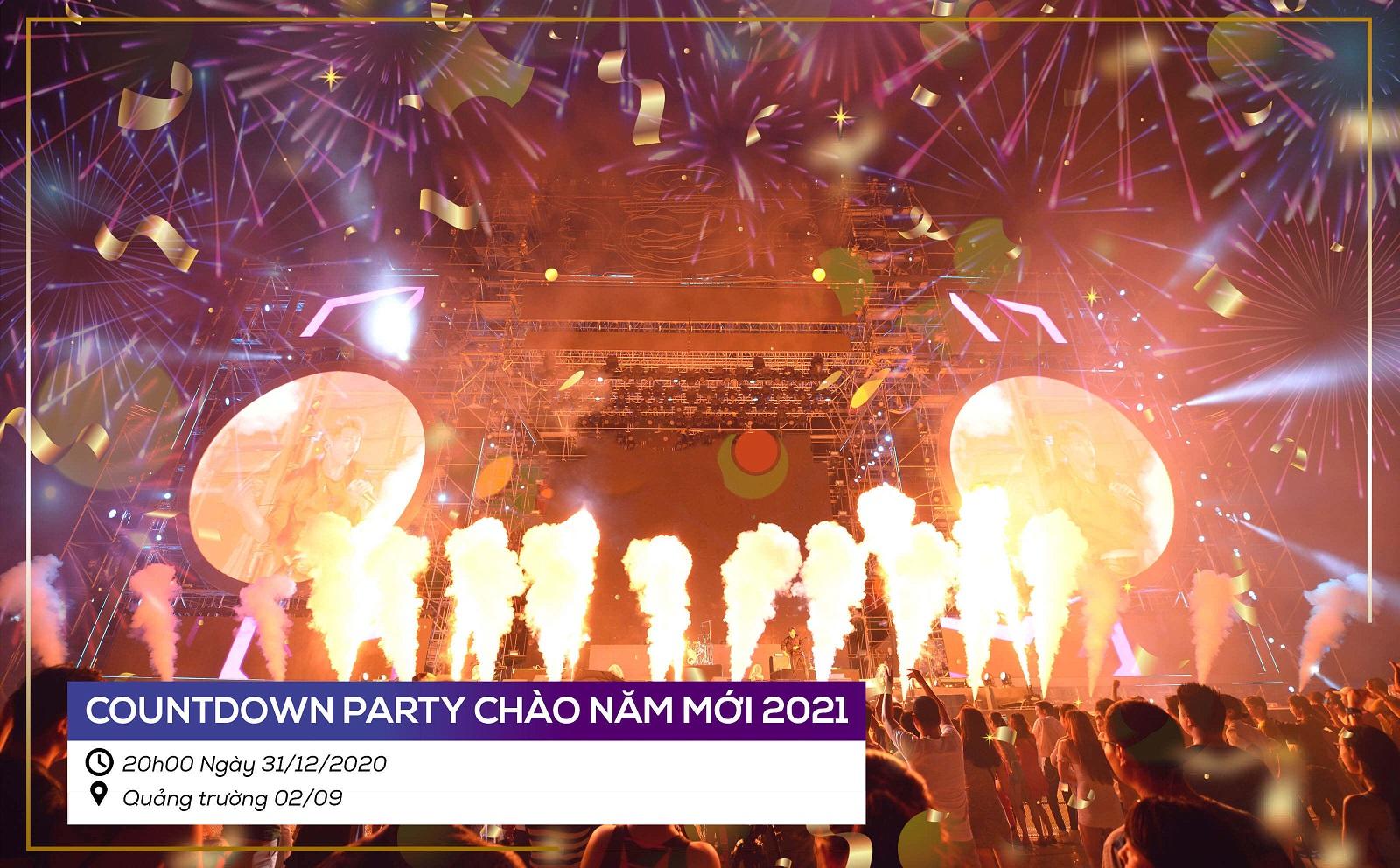 Le Hoi Da Nang Chao Nam Moi 2021 Countdown Party