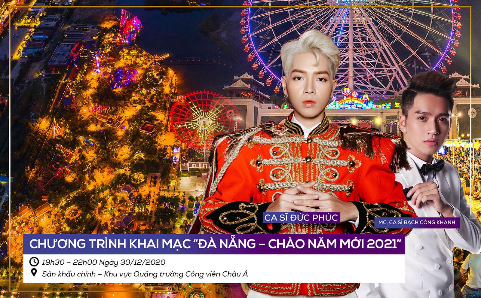 Le Hoi Da Nang Chao Nam Moi 2021 Le Khai Mac