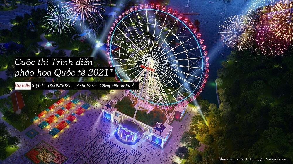 Cuoc Thi Trinh Dien Phao Hoa Quoc Te Danang 2021 Asia Park