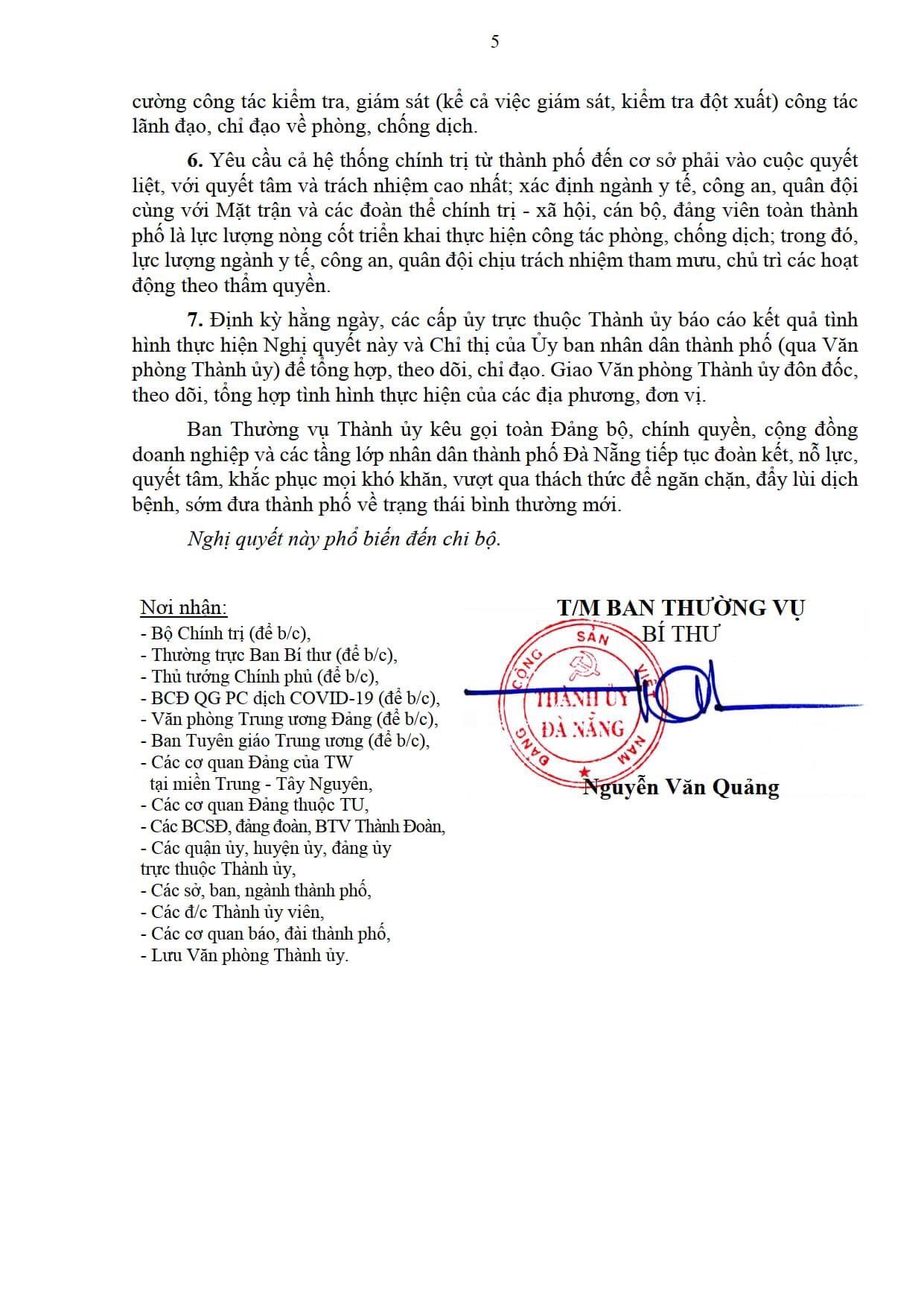 Da Nang Thuc Hien Cac Bien Phap Phong Chong Dich Manh Hon Cao Hon Chi Thi 16 Ke Tu 18h Ngay 31 Thang 75